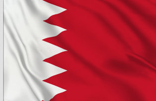 Bahrain Table Flag
