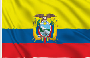 Ecuador Table Flag