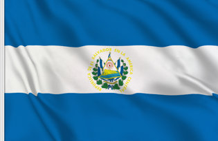 El Salvador State Table Flag