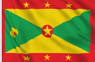 Grenada Table Flag