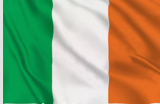 Ireland Table Flag