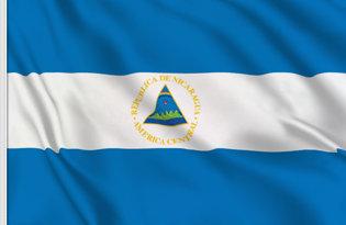 Nicaragua State Table Flag