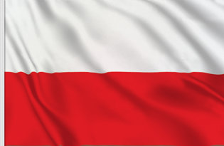 Poland Table Flag