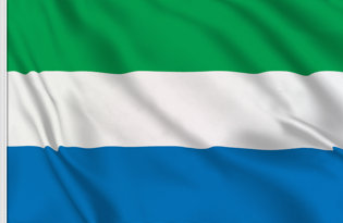 Sierra Leone Table Flag