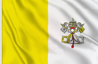 Vaticano State Table Flag