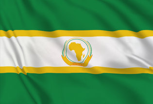 Flag African Union 2004 - 2010