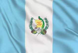 Guatemala State Table Flag