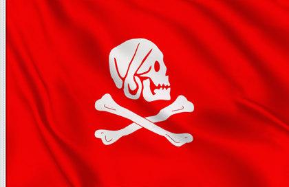 Bandera Henry Avery rojo