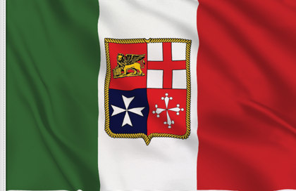Italy Marina Table Flag
