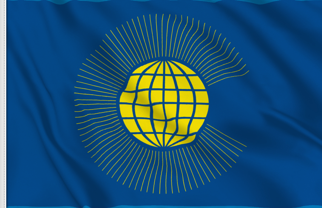 flag sticker of Commonwealth