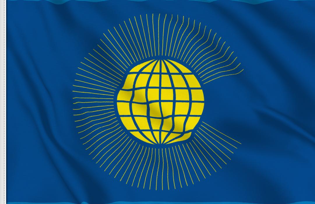 Commonwealth aufkleber fahne