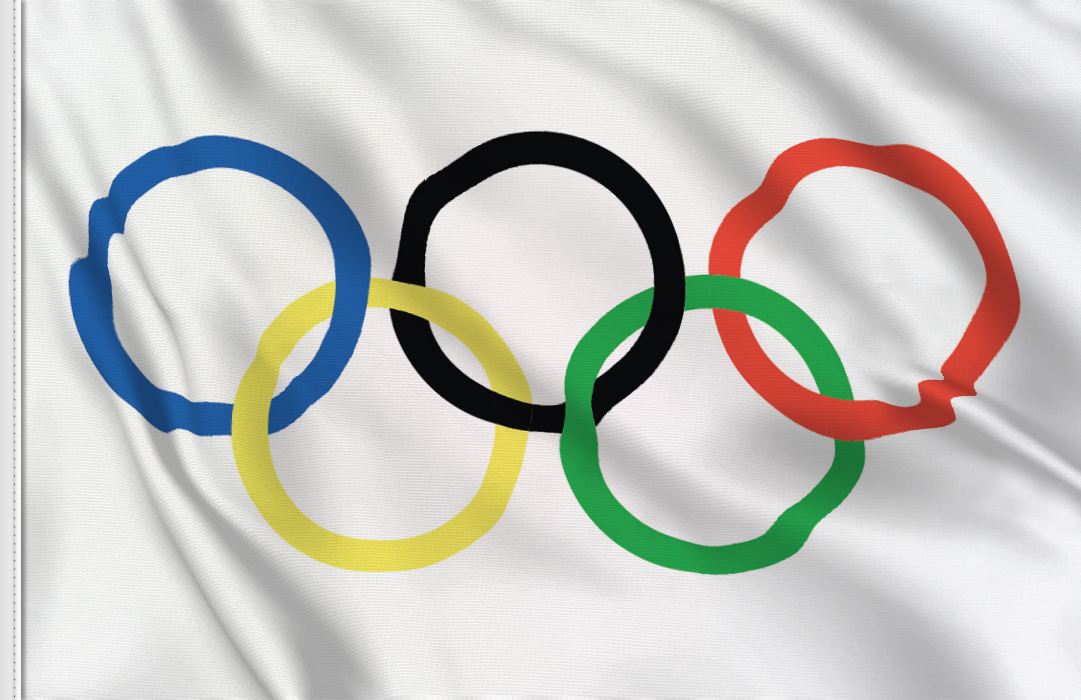 Olympische Fahne