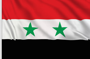 Syria Table Flag