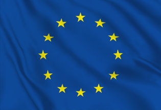 European Union Table Desktop Flag