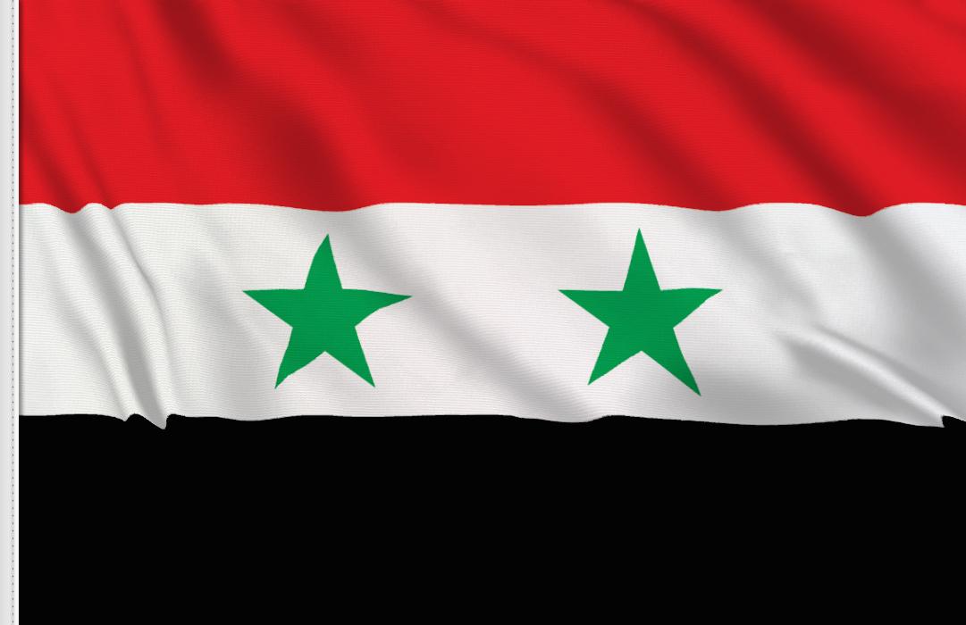 Syrien aufkleber fahne