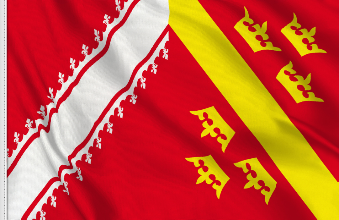 flag sticker of Alsace