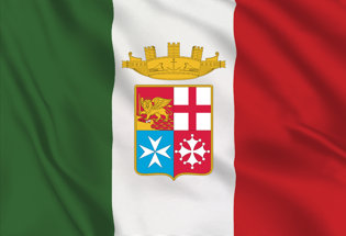 Flag Italy Navy Army
