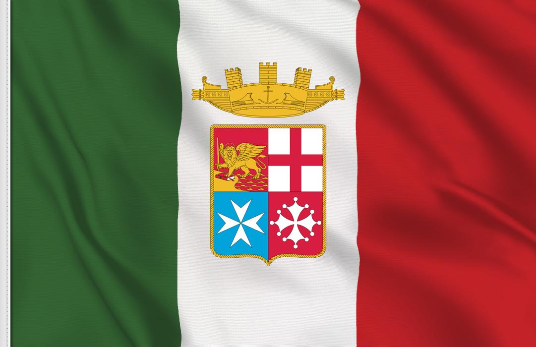 bandera pegatina de Italia Marina Militar