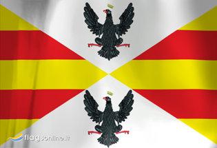 Bandera Reino de Sicilia 1296-1442
