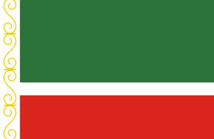 Flag Tchecheny