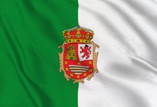 Flag bandiera dell'isola di Fuerteventura