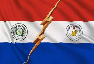 Bandera Paraguay di Stato