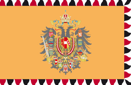 Bandera Impero Austro-Ungarico