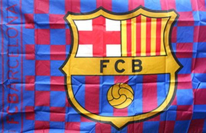 Flag Futbol Club Barcelona