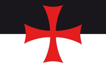 Bandera dei Cavalieri Templari