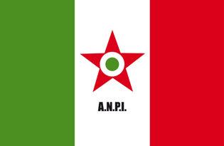 Bandera Asociacion Nacional de Partisanos