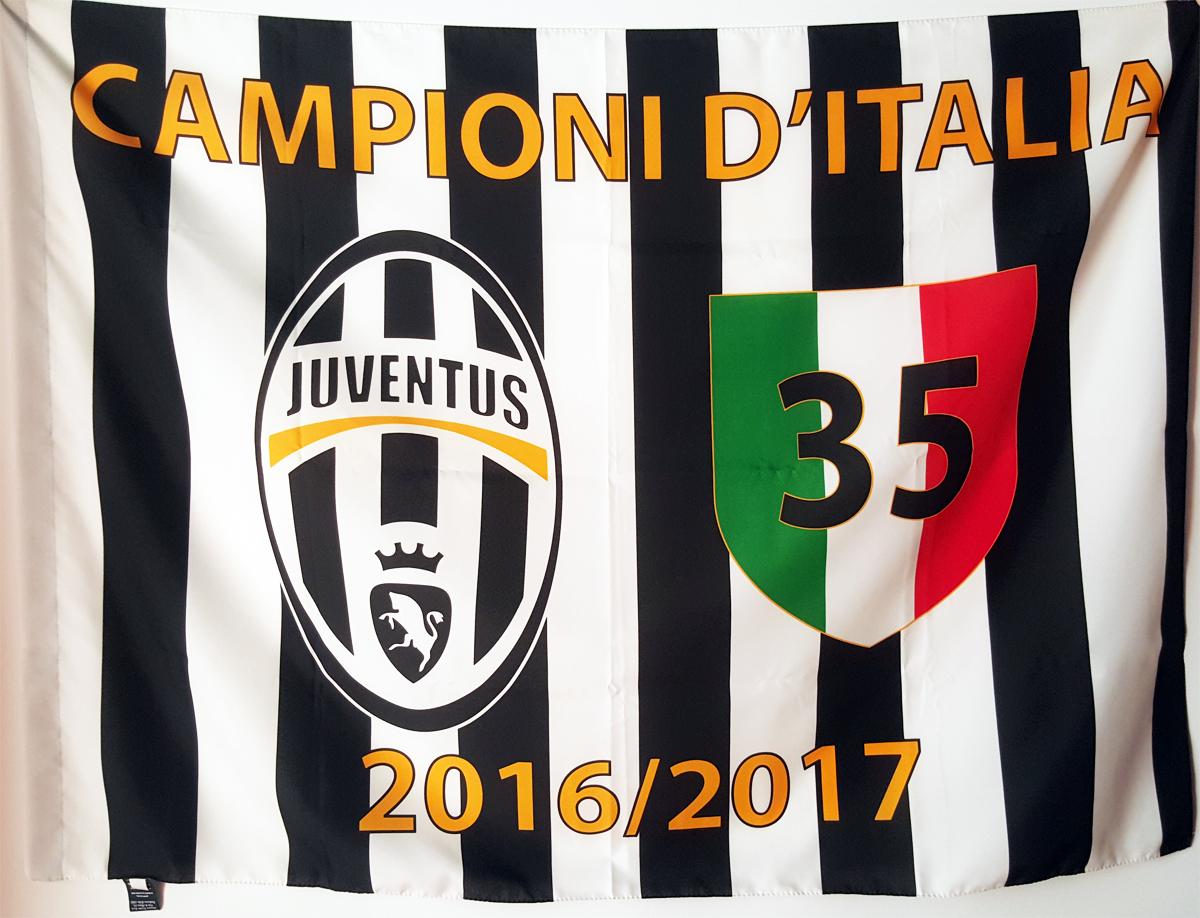 Juventus Champions flag