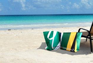 Bolsa de Playa con Bandera