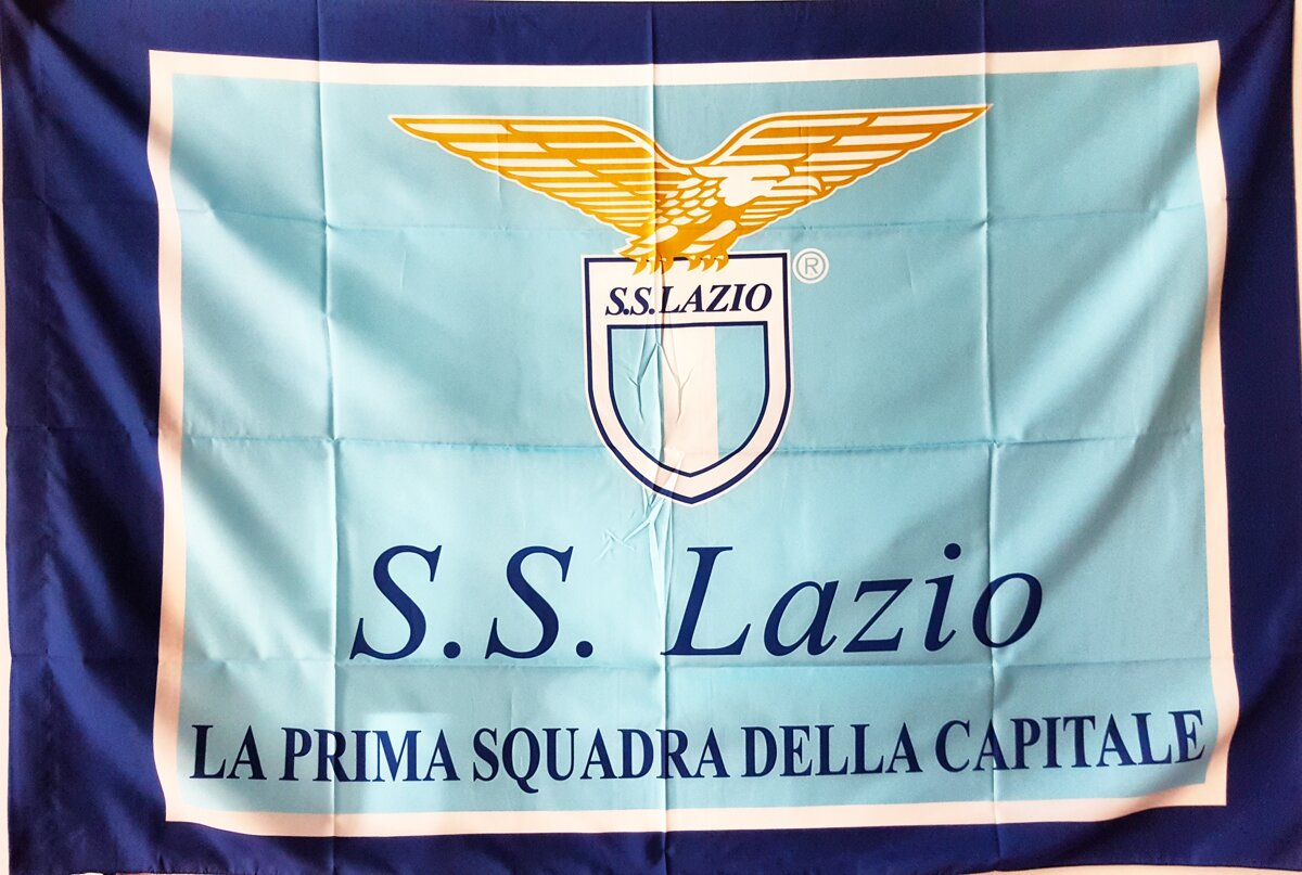 Lazio Official Sport Club Flag