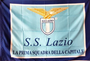 Lazio Official Sport Club Flag