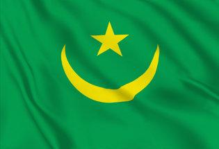 Bandera Mauritania histórica (1959-2017)
