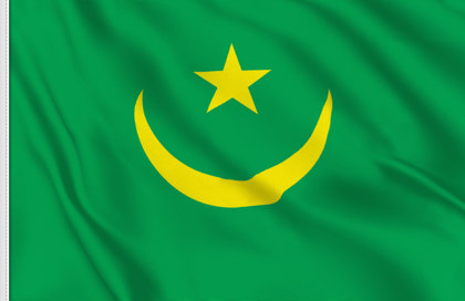 Mauritania Table Flag