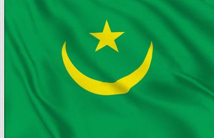 Flag Historical Mauritania (1959-2017)