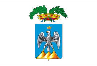 Bandera de la Provincia de L'Aquila