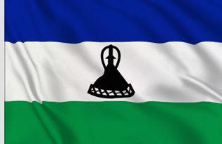 Adhesive flag Lesotho