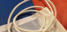 Vaina y cuerda Bandera Serbia Nacional