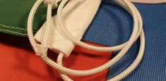 Sheath and rope Italy Savoia Flag