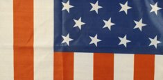 Sublimation printing USA Flag