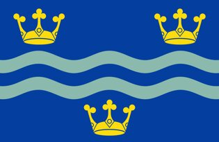 Cambridgeshire County Flag