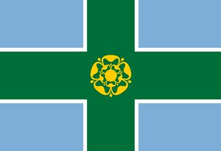Derbyshire County Flag