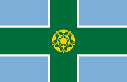 Derbyshire County Flag