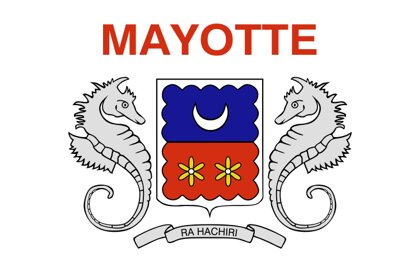 Flag Mayotte