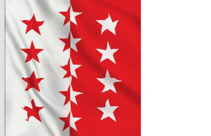 Flag Valais-Wallis
