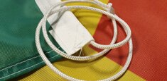 Sheath and rope Suriname Flag