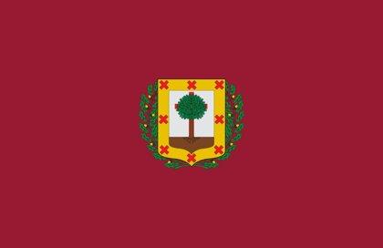La bandera de la Provincia de Vizcaya