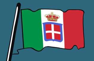 Historical Italian flags